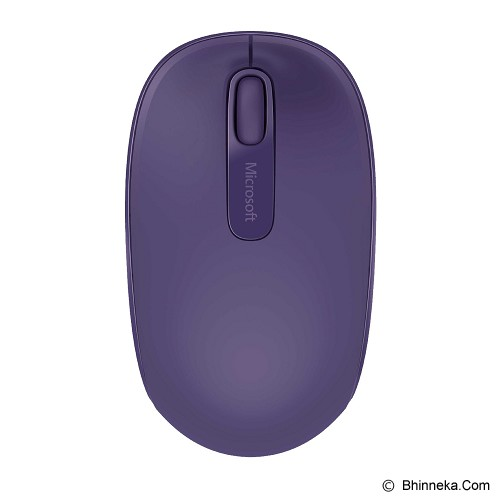 MICROSOFT Wireless Mobile Mouse 1850 [U7Z-00050] - Purple - Mouse Mobile